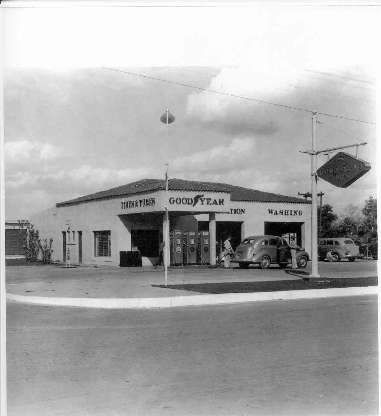 Goodyear Service Station